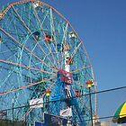 Astroland @ Coney Island, NY Ferris Wheel by Felicia722