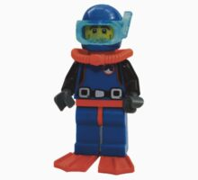 LEGO Diver Kids Tee