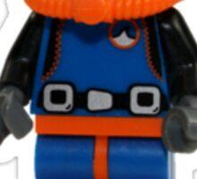 LEGO Diver Sticker