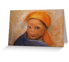 Grace, Pastel painting Greeting Card