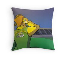 Dawn at Olympia Heights Throw Pillow