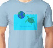 Earth Day Sea Turtle Unisex T-Shirt