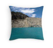 Emarald lake Throw Pillow