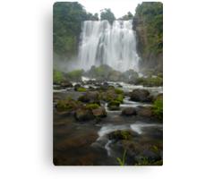 Marokopa falls, Waikato, New Zealand Canvas Print