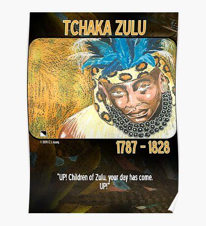 Tchaka Zulu Poster