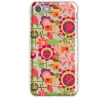 Pods and Flowers iPhone Case/Skin