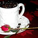 Coffee and Rose by debbiedoda