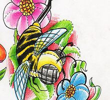 Bumble Bee by Brandon Lovell