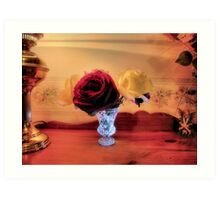 Old Style Roses Art Print