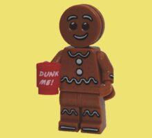 LEGO Gingerbread Man with Dunk Me Mug Baby Tee