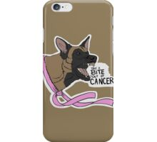 Take A BITE Out of CANCER iPhone Case/Skin