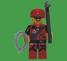 LEGO Climber with Ice Axe and Rope One Piece - Short Sleeve