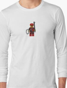 LEGO Climber with Ice Axe and Rope Long Sleeve T-Shirt