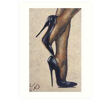 Nylons & Heels, by James Patrick Art Print