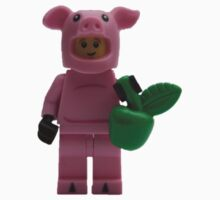 LEGO Pig Man with an Apple Baby Tee