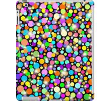 Polka Dots Psychedelic Colors iPad Case/Skin