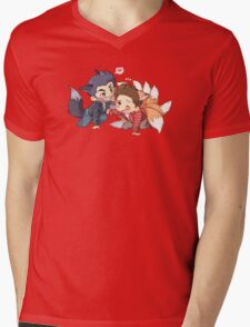 The Fox 'n the Wolf - Part 2 Mens V-Neck T-Shirt