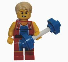LEGO Weightlifter Kids Tee
