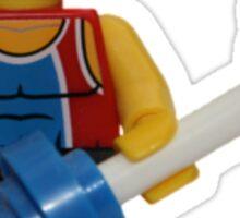 LEGO Weightlifter Sticker