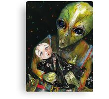 oh baby Canvas Print