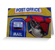 Post Office Rat Greeting Card