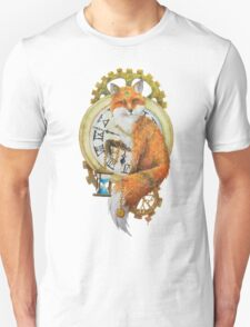 Fox; Keeper of Time Unisex T-Shirt