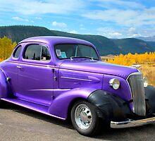 1937 Chevy on Colorado Highway 149 by TheBlindHog