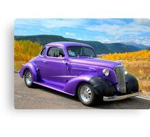1937 Chevy on Colorado Highway 149 Canvas Print
