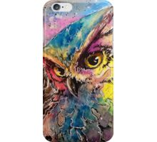 Galaxy Owl iPhone Case/Skin