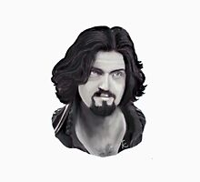 Athos - Captain of the Musketeers! In Black and White Unisex T-Shirt