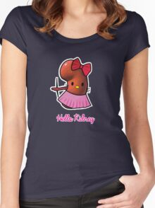 Hello Kidney Women's Fitted Scoop T-Shirt