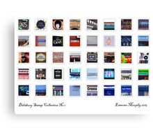 Didsbury Stamp Collection #1 Canvas Print