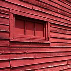 Red Barn Wall by Jennifer Rigsby
