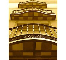THREE   LAYER  ARCHITECTURE Photographic Print