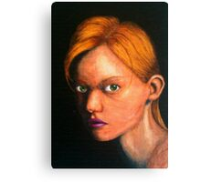 Evil Blonde, by James Patrick Canvas Print
