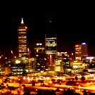 Perth City at Night - Print by cmrphotography