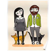 Father's Day with Fur Babies Poster