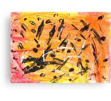 Dante's Bushfire Canvas Print