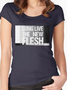 Long Live The New Flesh Women's Fitted Scoop T-Shirt