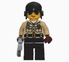 LEGO Traffic Cop One Piece - Short Sleeve