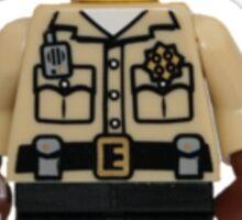 LEGO Traffic Cop Sticker
