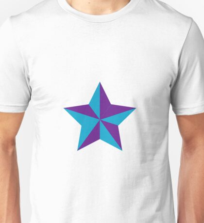 Star Opposed color V Unisex T-Shirt