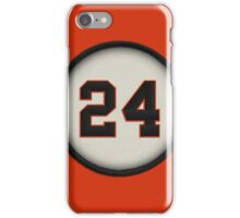 24 - Say Hey Kid (alt version) iPhone Case/Skin