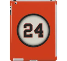 24 - Say Hey Kid (alt version) iPad Case/Skin