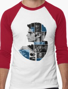 Dylan O'Brien Squares Men's Baseball ¾ T-Shirt