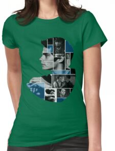 Dylan O'Brien Squares Womens Fitted T-Shirt