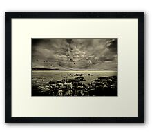 Fated. Framed Print
