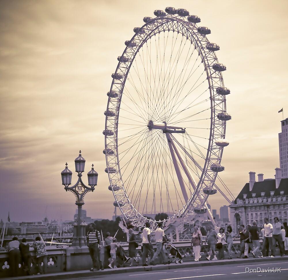 Moody London Eye by DonDavisUK