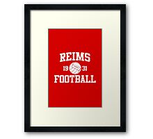 Reims Athletic College Style 2 Color Framed Print
