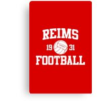 Reims Athletic College Style 2 Color Canvas Print